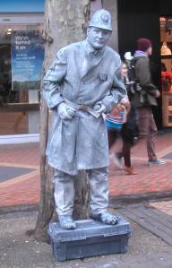 Tin man, Birmingham city centre