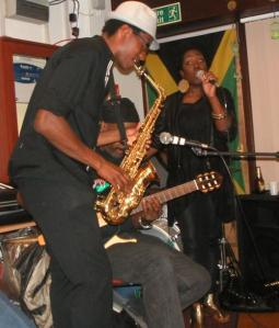 Ash Gabbidon on 1st September at the Gabbidon Brothers gig