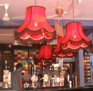 Bar lights, Oddballs, Chorlton, Manchester