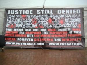 Demonstration in Birmingham City Centre September