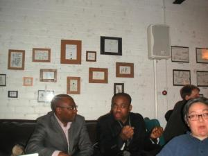Guests at Avelino's tribute