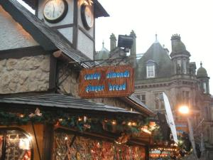 Christmas wish at German Market