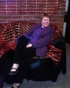 Catherine at the Ramada