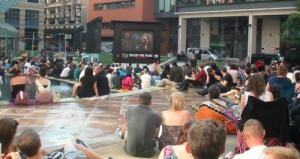 Brindley Place outdoor festival