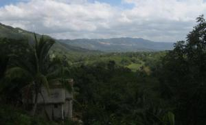 Stunning views from the road at Casava Pond,St Catherine, Jamaica