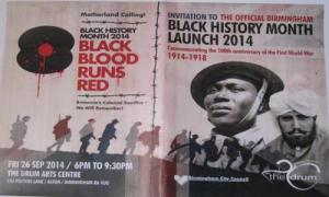 Motherland Calling: Black Blood Runs Red
