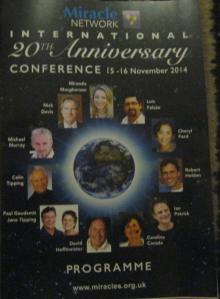 A Course in Miracles Conference programme