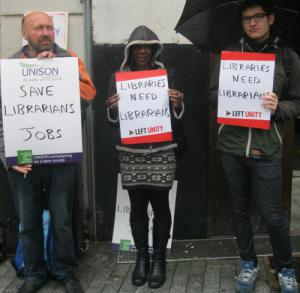 Supporting an end to library cuts