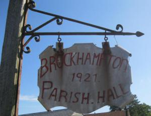 Brockhampton Parish Hall was host to the Family Constellation