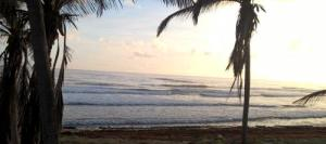 Bathsheba, Barbados. Before the surfers arrive.